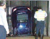 Porsche 911 : crash test involontaire