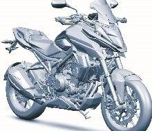 Nouveauté - Honda : voici la suite de la CB500X Adventure