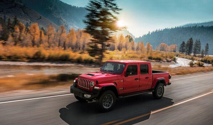 Jeep Gladiator : le pick-up à partir de 70 900 €