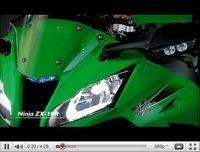 Tous les détails de la Kawasaki ZX-10R 2011 en vidéo
