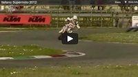 Supermotard championnat international d'Italie 2012: les meilleurs moments en vidéo