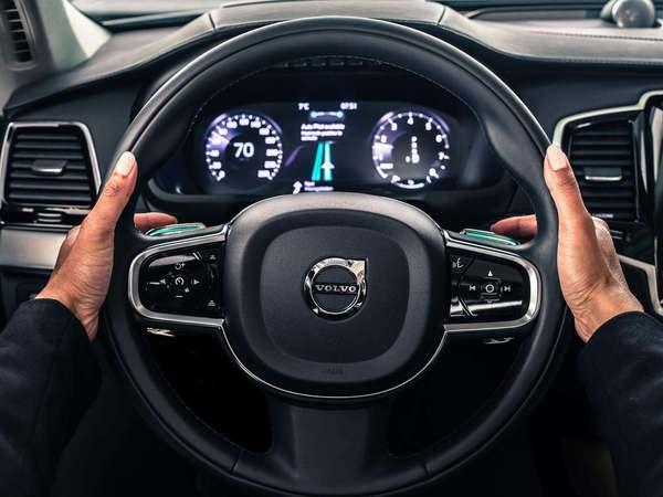 Volvo présente son système autonome IntelliSafe Auto Pilot
