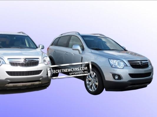 Mondial 2010 : restyling Opel Antara : plutôt comme ça