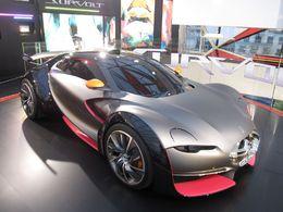 La Citroën Survolt présente à l'Eco Car Spectacular de Londres le 12 septembre 2010