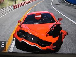 Une nouvelle hécatombe de Ferrari 458 Italia détruites, mais cette fois c'est dans Gran Turismo 5