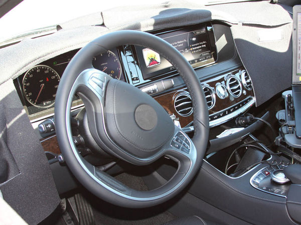 Bienvenue à bord de la future Mercedes Classe S