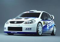 Premiers essais pour la Suzuki SX4 WRC