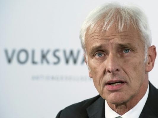 """Affaire Volkswagen : """"tout ce qui n'est pas nécessaire sera abandonné ou reporté"""""""