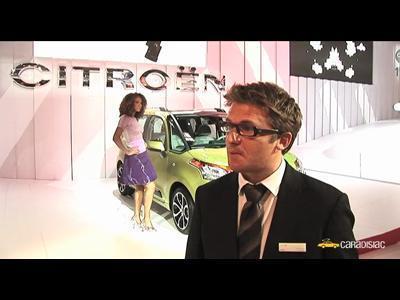 Paris 2008 : Alexandre Malval, département style Citroën (interview)