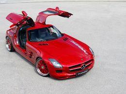 Mercedes SLS AMG par Domanig : la mouette aux hormones