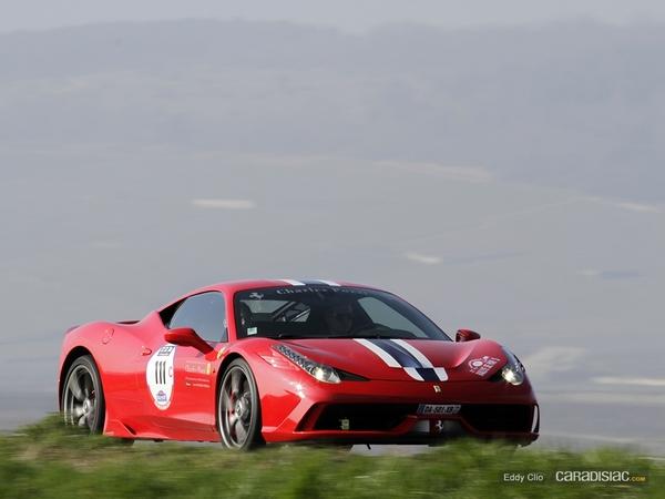 Photos du jour : Ferrari 458 Speciale (Rallye de Paris)