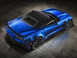 New-York 2014 - la Corvette Z06 cabriolet y sera