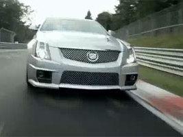 [Vidéo] La Cadillac CTS-V fait sa pub sur le Nürburgring