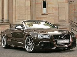Audi A5 Cabriolet Senner Design, le grand méchant look !