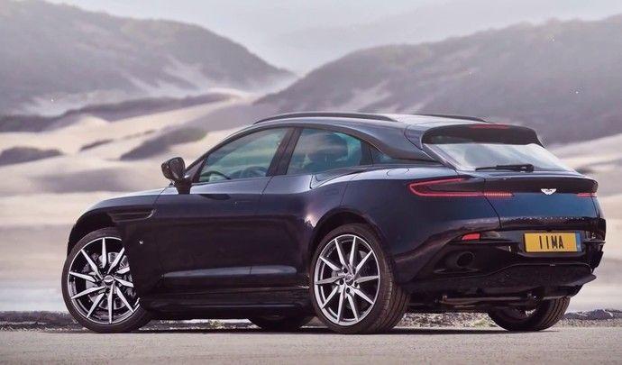Aston Martin : la production du SUV débutera en 2019