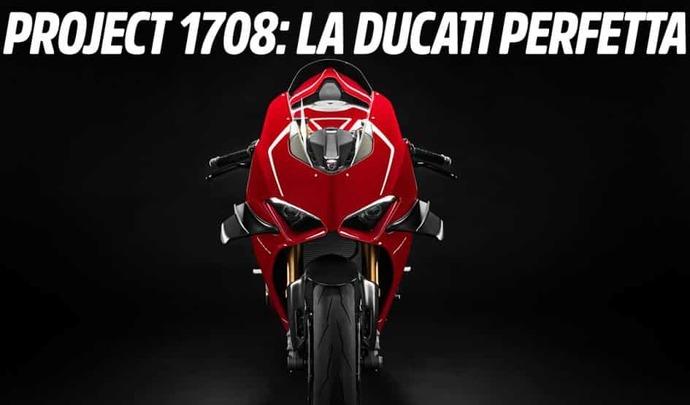 La 1ère photo de la Ducati Panigale V4 Supeleggera
