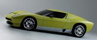 La Lamborghini Miura Concept sur les rails ?