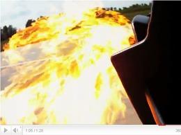 Lamborghini Murcielago LP670-4 SV Twin Turbo  : le teaser enflammé