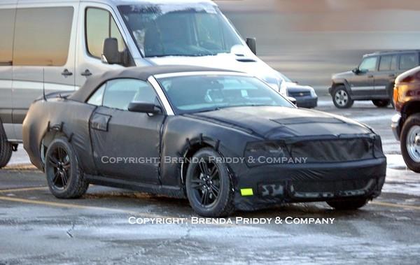 Future Ford Mustang Phase 2: avec une couche de plus