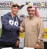 Moto GP - Qatar: Anthony West ne s'est pas privé de désert