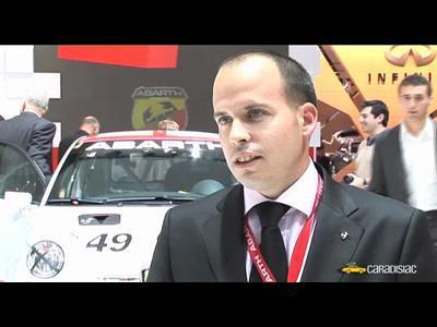 Paris 2008 : Antoine Burguière, responsable marketing Abarth (interview)