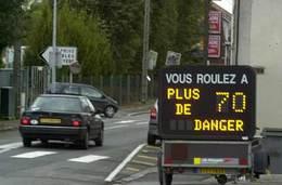 Les Français ne respectent pas les limitations de vitesse