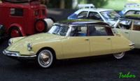 Miniature : 1/43ème - Citroën DS19 - celle présentée au salon de l'auto 1955