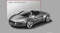 Future Audi R8 Spider/Targa au Super Bowl XLII