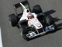 Sauber avec une aéro spéciale Monza