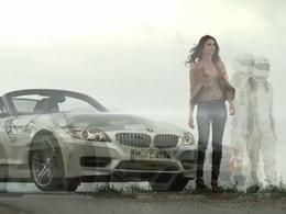 [vidéo] Au volant de sa BMW Z4, elle s'imagine conduire la version GT3