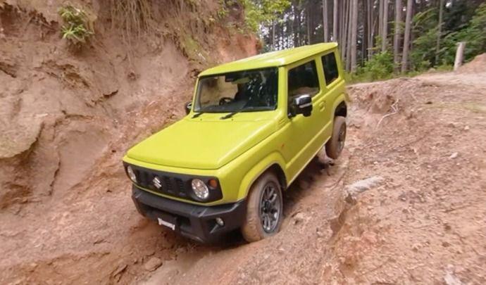 Le nouveau Suzuki Jimny aime toujours autant le tout-terrain