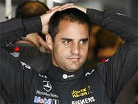 L'équipe McLaren Mercedes joue au yoyo avec Juan Pablo Montoya