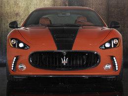 Maserati Gran Turismo S par Mansory : baroque