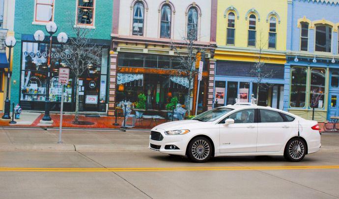 Ford annonce la création de la filiale Autonomous Vehicles