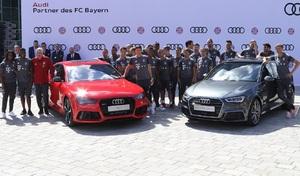 Audi reconduit un gros contrat avec le club du Bayern Munich