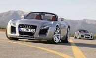Audi KTM Roadster : work in progress