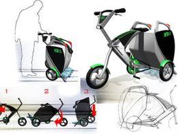 Caddie à roulettes ou vélo électrique ? Les deux !
