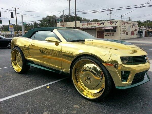 Saucisse du vendredi : Chevrolet Camaro ZL1 Goldmember