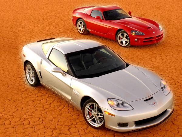 Sondage : Chevrolet Corvette ou SRT Viper ?