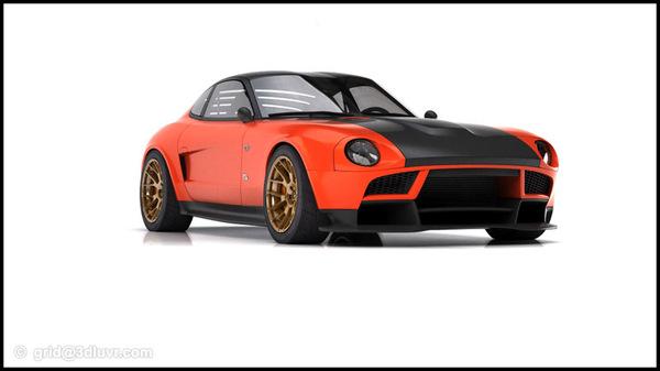 Design : Datsun 240Z par Grid