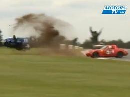 Crash : Mark Leach fait sept tonneaux en Mazda MX-5