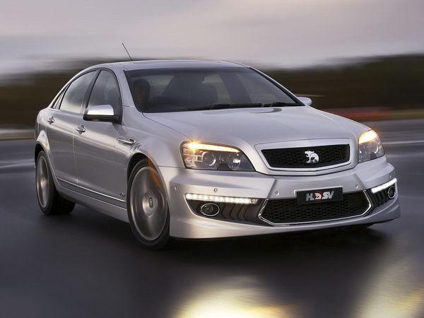 Elle restera loin de Paris : nouvelle Holden Grange V8