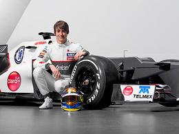 F1 - Sauber avec Esteban Gutierrez en 2013