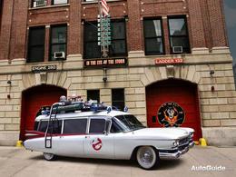 La voiture de Ghostbuster à vendre !