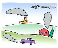 En 2005, l'Union européenne a connu une baisse de 0,8%  de ses émissions de gaz à effet de serre