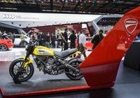 Les deux-roues font le show au Mondial de l'Auto
