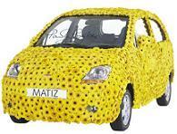 Chevrolet Matiz en fleur !!!