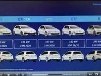 Volkswagen Golf 8 : GTD, GTI, R, la liste de tous les moteurs confirmée
