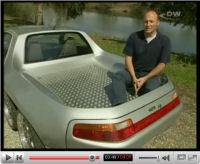 Porsche 928 GTS T6 : un pick-up à 6 roues ! [vidéo]