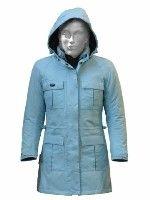 Du bleu pour la veste fille Jollisport Squinzy.